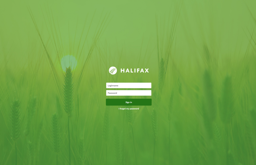 Design-Halifax-Portfolio-Login