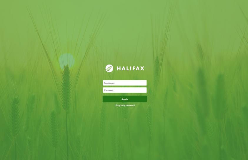 Design-Halifax-Portfolio-Login