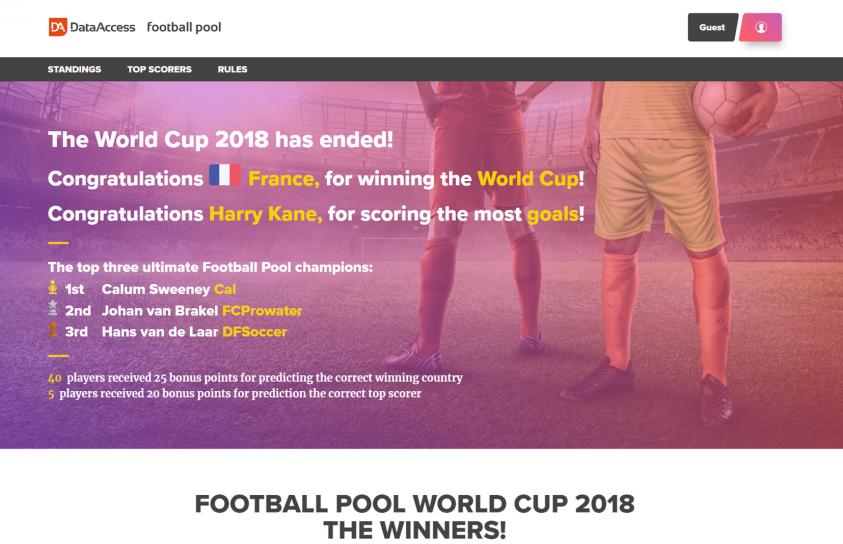 Design-Portfolio-Footballpool-Website