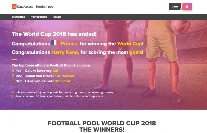 Design-Portfolio-Footballpool-Website